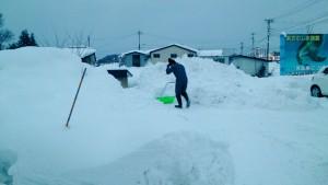 雪かき 004